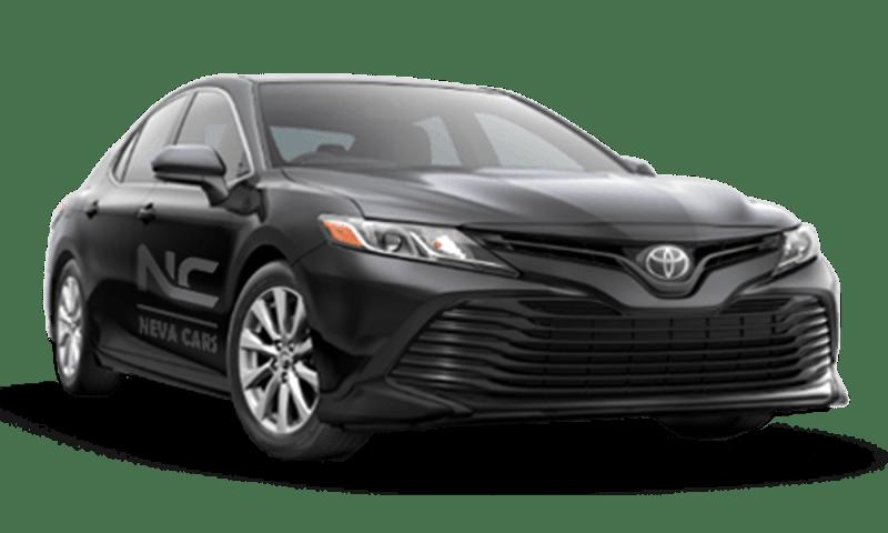 Аренда Toyota Camry v70 с водителем в Санкт-Петербурге | Neva Cars