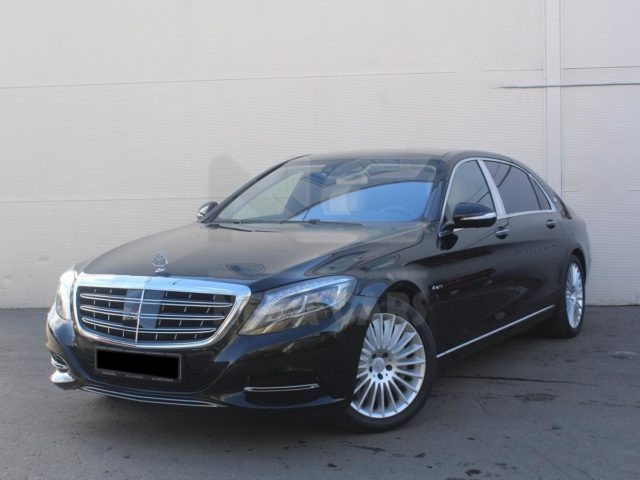 Mercedes-Benz Maybach S-class 222 в аренду с водителем